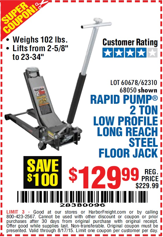 Harbor Freight Coupon Database