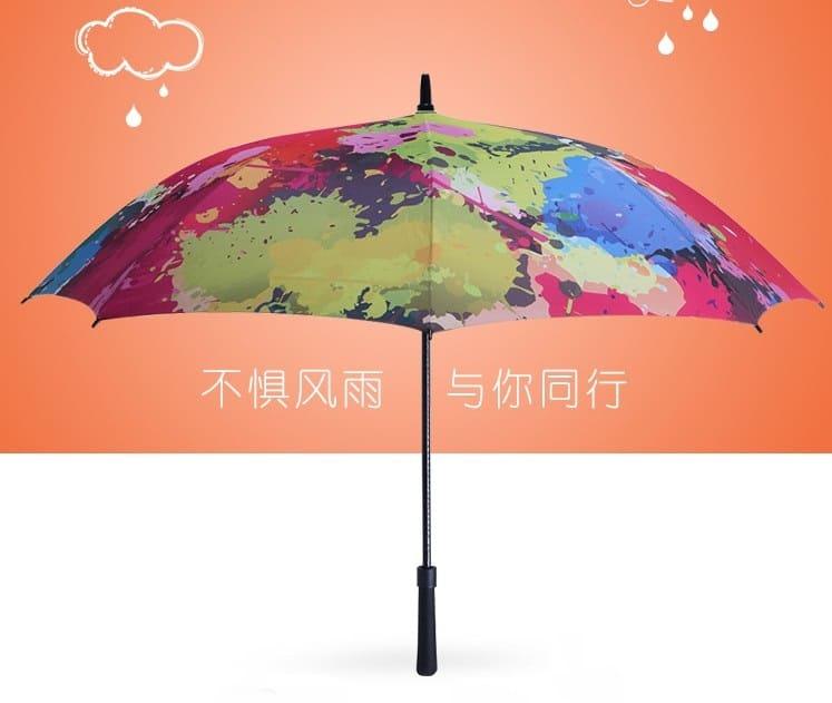 Full Digital Printing Custom Design Cool Fashion Umbrellas