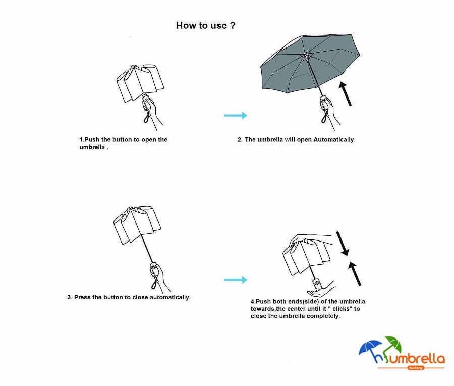Travel Compact Golf Windproof Umbrella For Amazon Brand