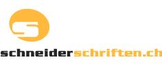 Logo Schneider Schriften