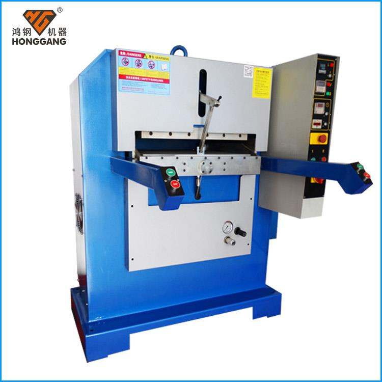 Leather embossing machine works - Applications - Foshan City Honggang Cutting Machine Co..Ltd