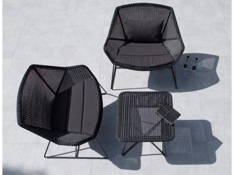 Breeze Lounge Lowback  Caneline Outdoor Chairs HGFS