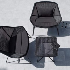 Unique Chairs For Living Room Pictures Of Furniture Arrangements Breeze Lounge Lowback - Caneline Outdoor Chairs, Hgfs ...
