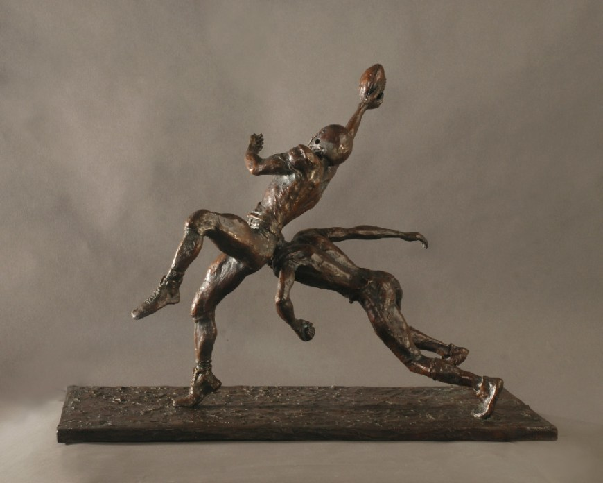 "• 2011 • Bronze • Tint – Brown/black • Height 20"", Length ""26"", Width 12"" • 58 lbs • Series of 18 Price upon request"