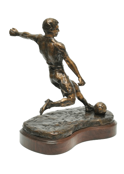 Free Kick Statue