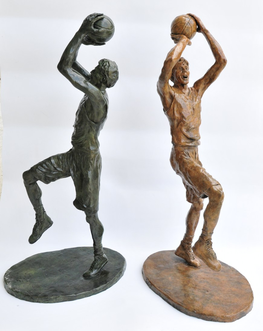 Fadeaway, bronze