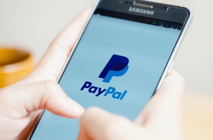 paypal on samsung mobile