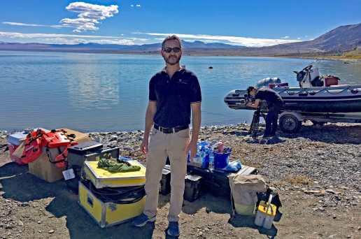 Dr. Rucker - Mono Lake - Hydrogeophysics