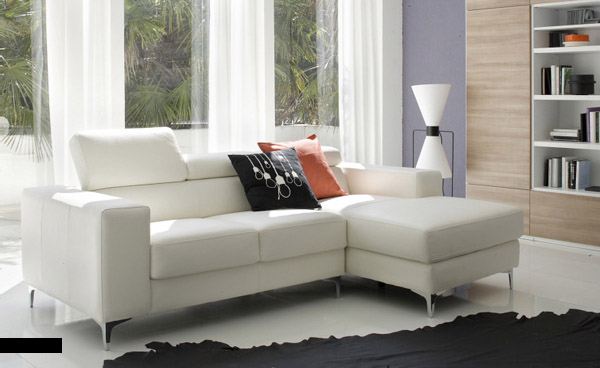 white sofa set living room small design tv 10 gorgeous leather designs for your home view in gallery and natural lit with black