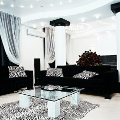 Living Room Decorating Ideas With Leather Furniture Teal And Silver Black Sofa Sets Inspiring For Hgnv Awesome Modern In White Theme Cool Vanity Lighting