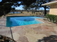 Stamped Concrete Driveway Patio Design Ideas : Everything ...