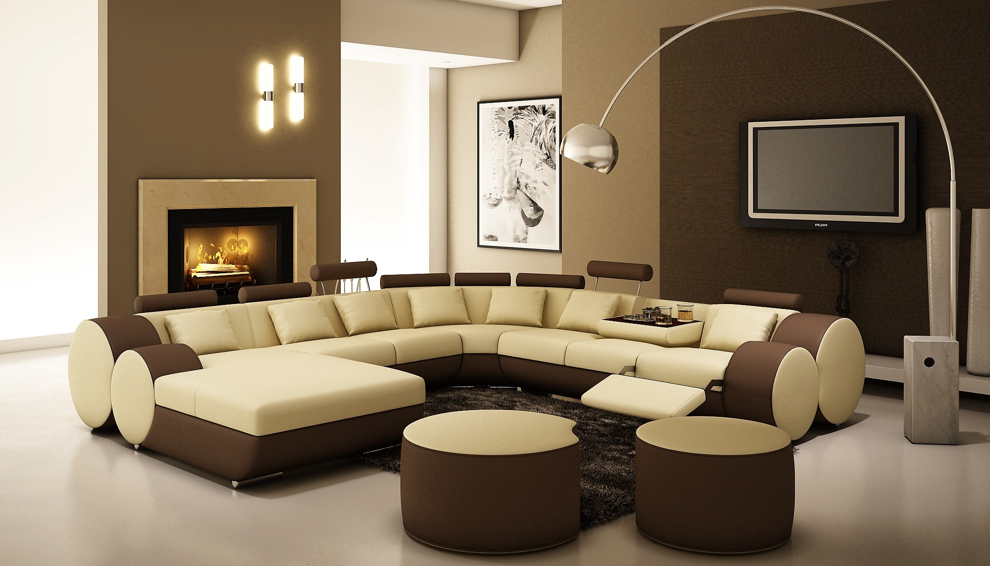 sofa colour combination dog bed blanket 20 modern floor lamps design ideas with pictures hgnv com