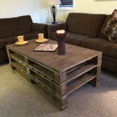 Easy Sofa Table Diy Metro Sectional Big Lots The Best 20 Pallet Coffee Projects For Your