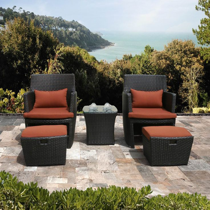 resin wicker chair with ottoman karma sutra cool patio furniture for all weather hgnv com view in gallery