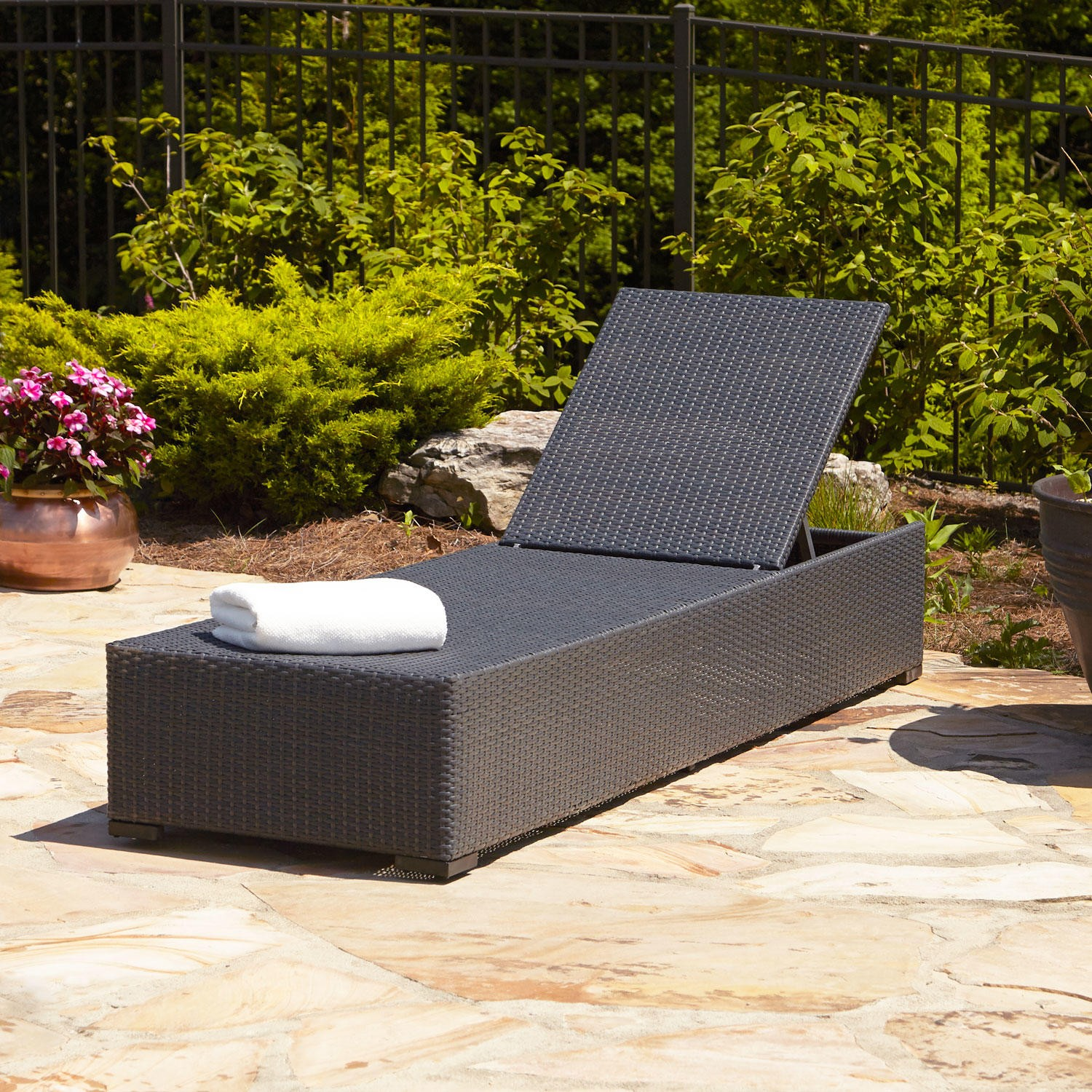 resin patio lounge chairs child sized table and chaise as the must have furniture in your pool deck view gallery black wicker