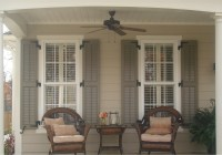 Stylish Window Shutters For Window Treatment Ideas ...