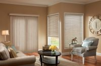 Vertical Blinds For Sliding Glass Doors : Window Treatment ...