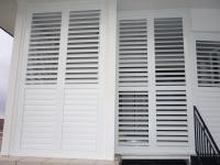 Interior Window Shutter Ideas. Silk White Bay Window ...