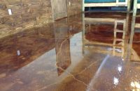 Acid Stained Concrete Floors Ideas - HGNV.COM