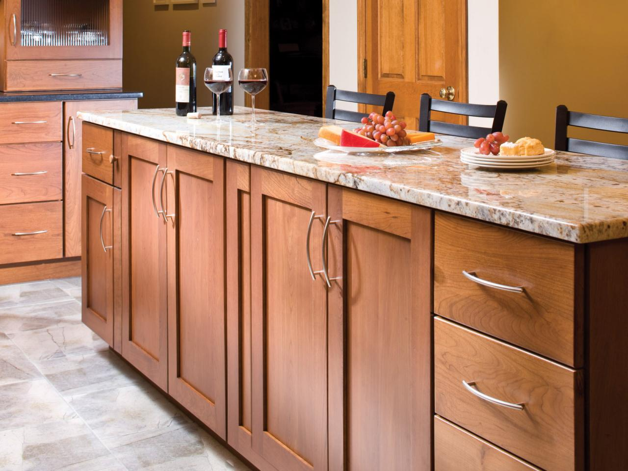 mid range kitchen cabinets red mat cheap versus steep cabinetry designs