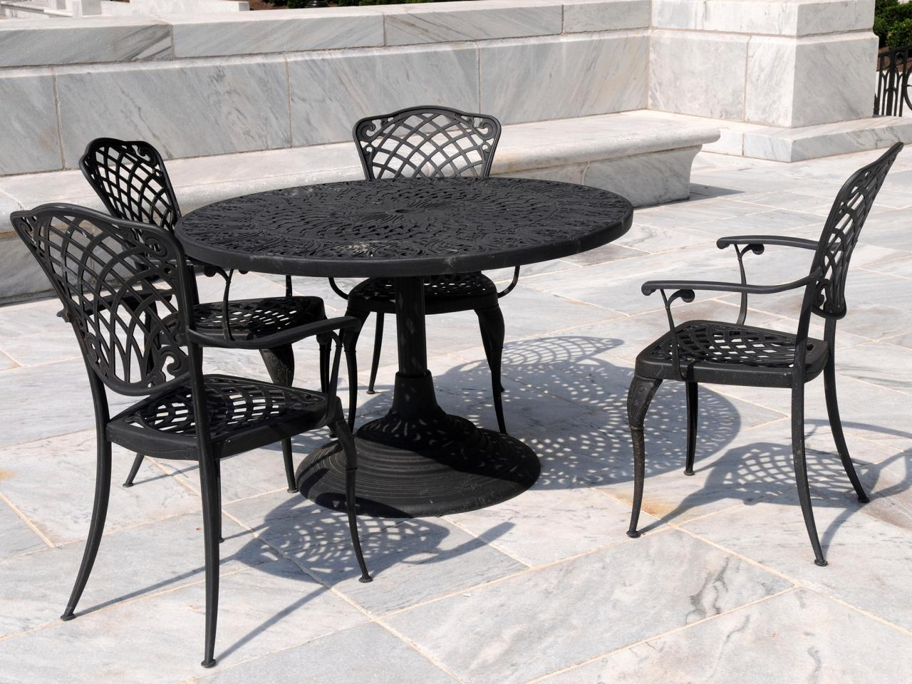 Wrought Iron Patio Furniture  Outdoor Design