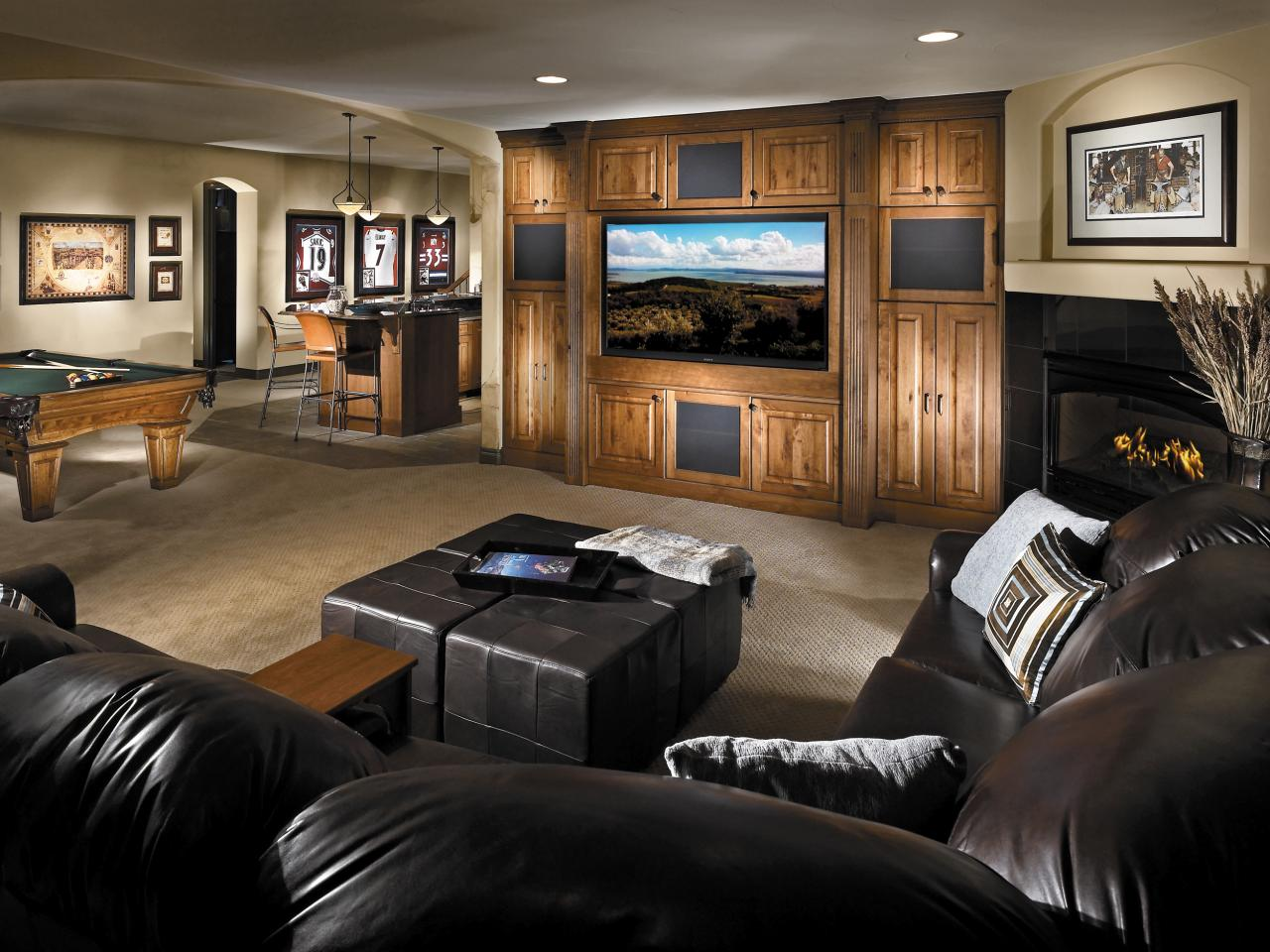Ideas for Basement Rooms  Home Remodeling  Ideas for