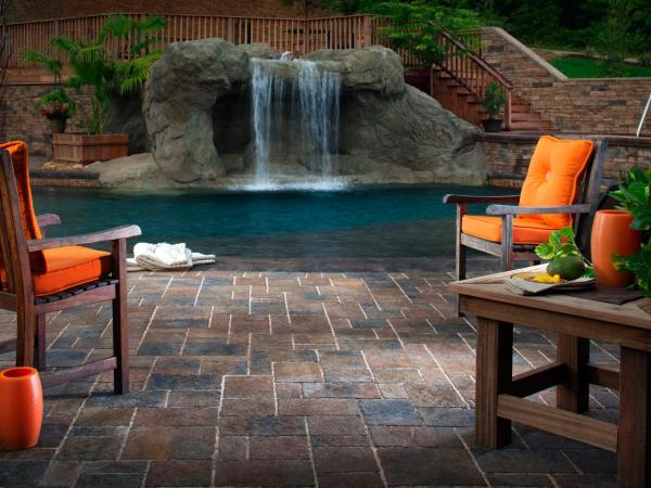 pool deck and patio design