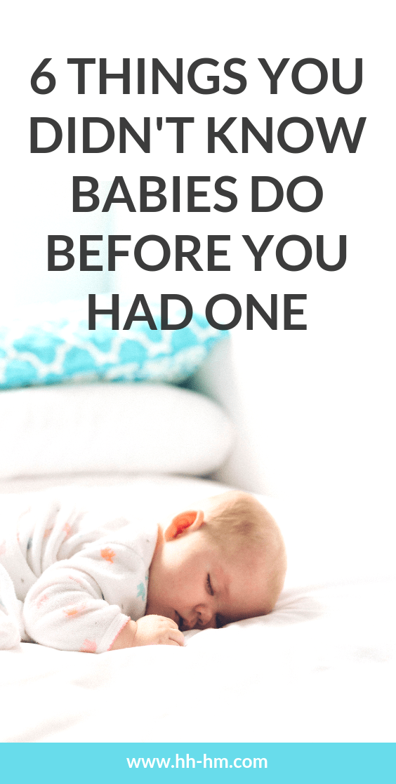 6 things you didn't know babies can do, before you had one. These are things that really took me by surprise when I had my little boy.
