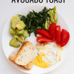 Quick and easy avocado egg toast. This avocado toast with egg, tomato and basil is a tasty and healthy savory breakfast ideas that you'll want to eat every day!