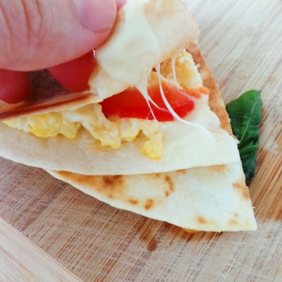 Mediterranean Breakfast Quesadillas