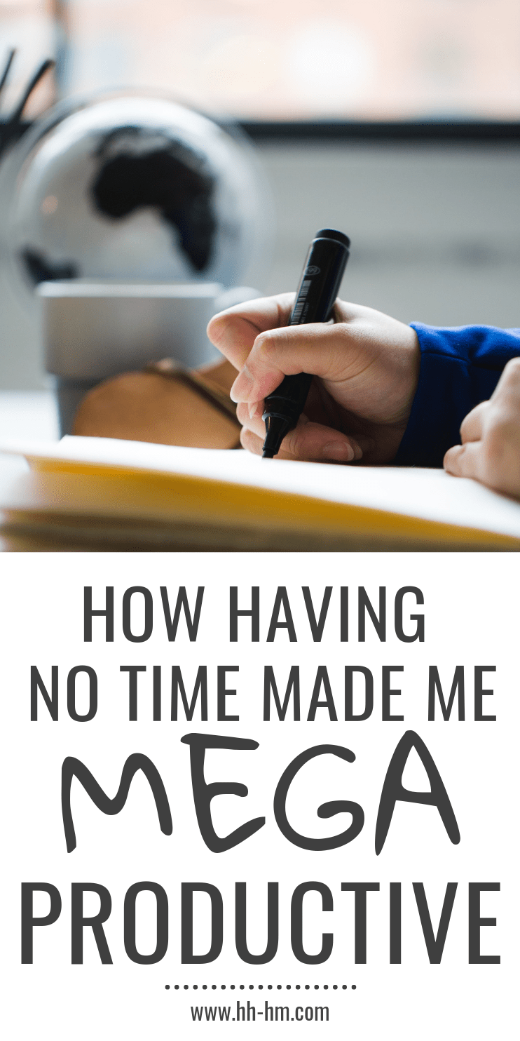 How to be more productive and get things done! How having no time made me super productive - productivity tips, time management tips!