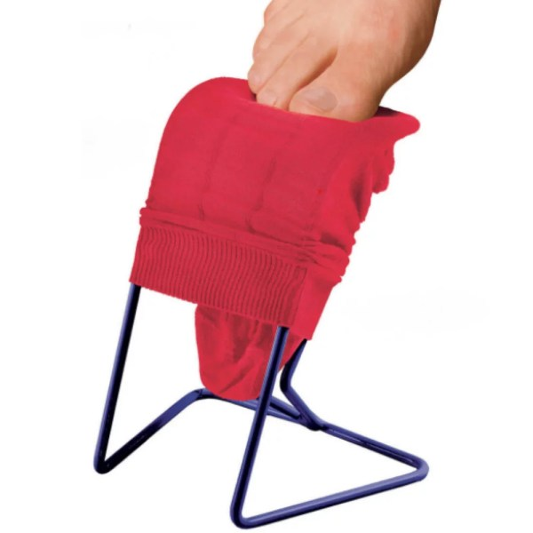The Ezy-On small compression frame is ideal for compression stockings after surgery
