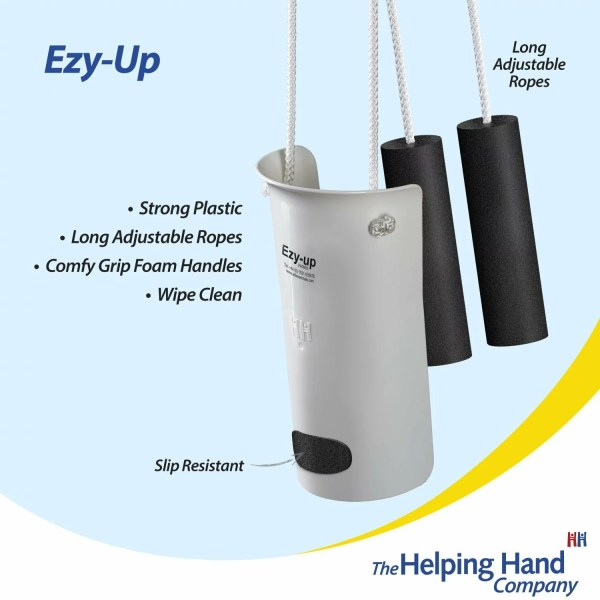 The Ezy-Up sock applicator. Ideal for anyone that struggles reaching, bending and stretching when getting dressed. Slip resistant disc makes dressing easier every time. Simple to use, Minimum fuss.