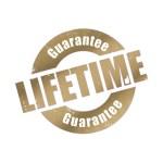 Life time guarantee logo
