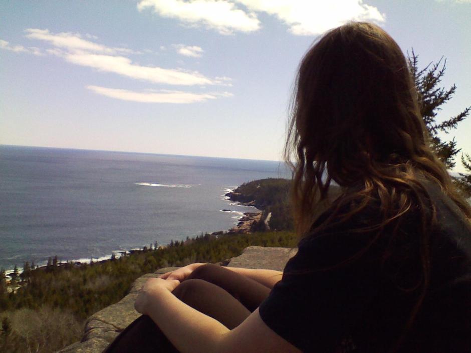 Heather hiking