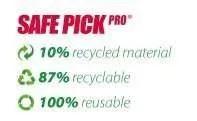 Safe Pick Pro Recycling Stats