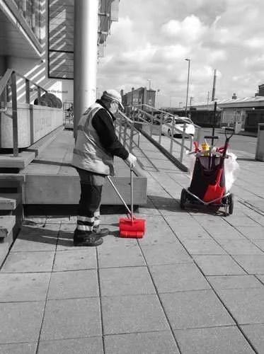 Streetboss-Litter-Cart