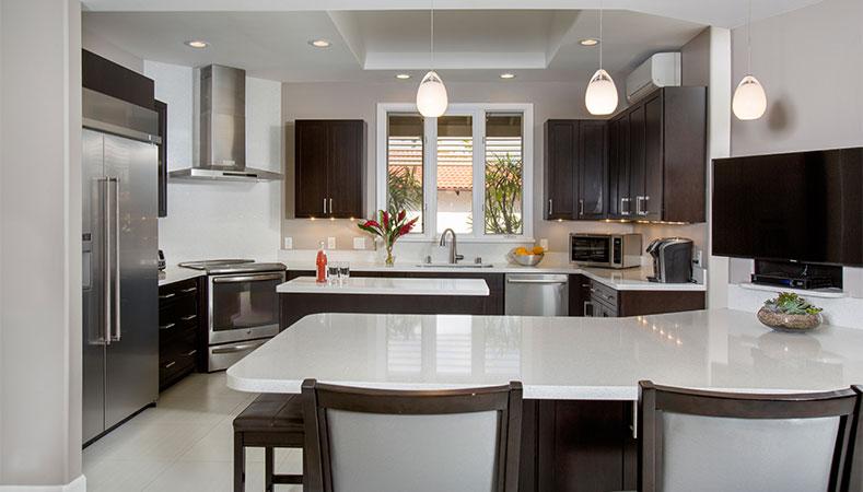 kitchen remodel hawaii chalkboard art makes modern functional remodeler by homeowners design center