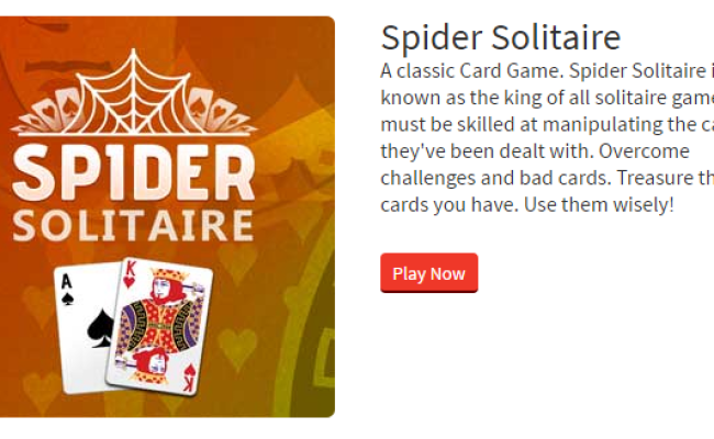 Spider Solitaire Helping Hands