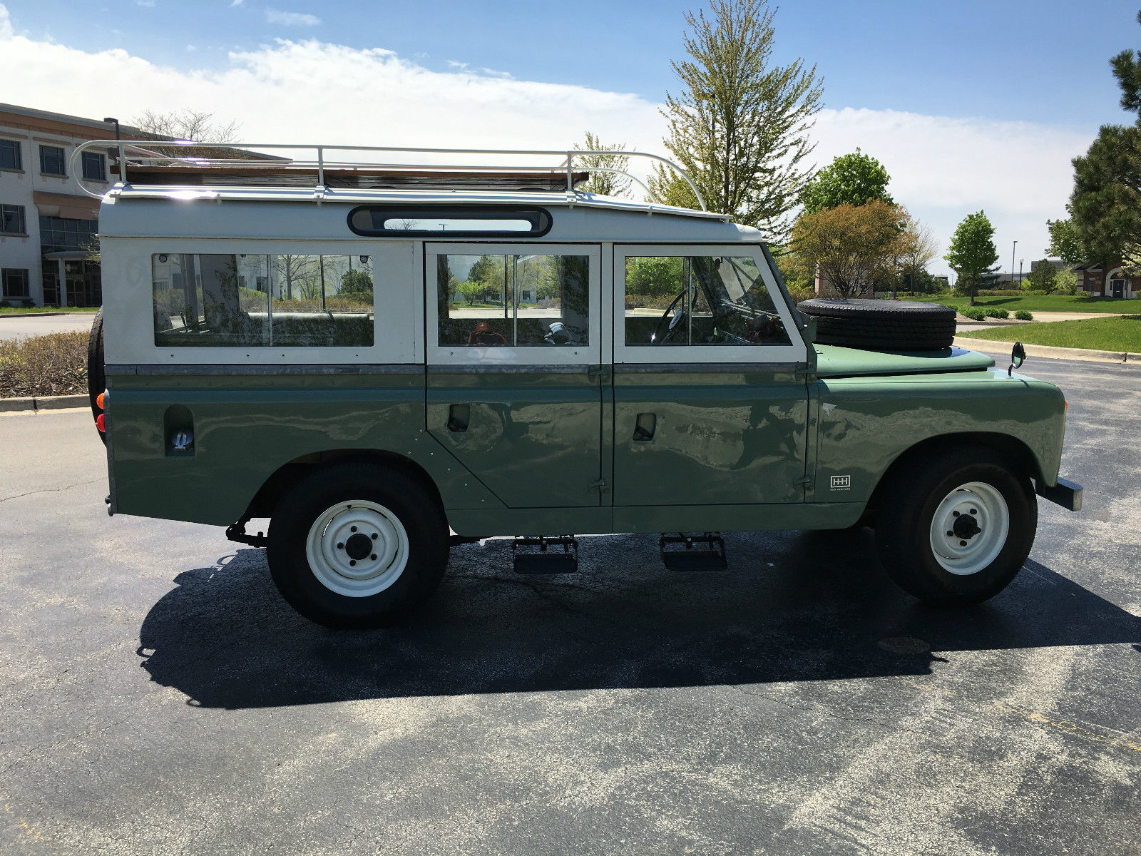 HHH Heritage – 1965 Land Rover Series llA 109