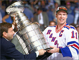As A New York Ranger Messiers Determination And