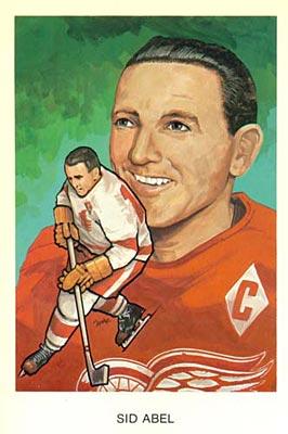 1983 Hockey Hall of Fame hockey card