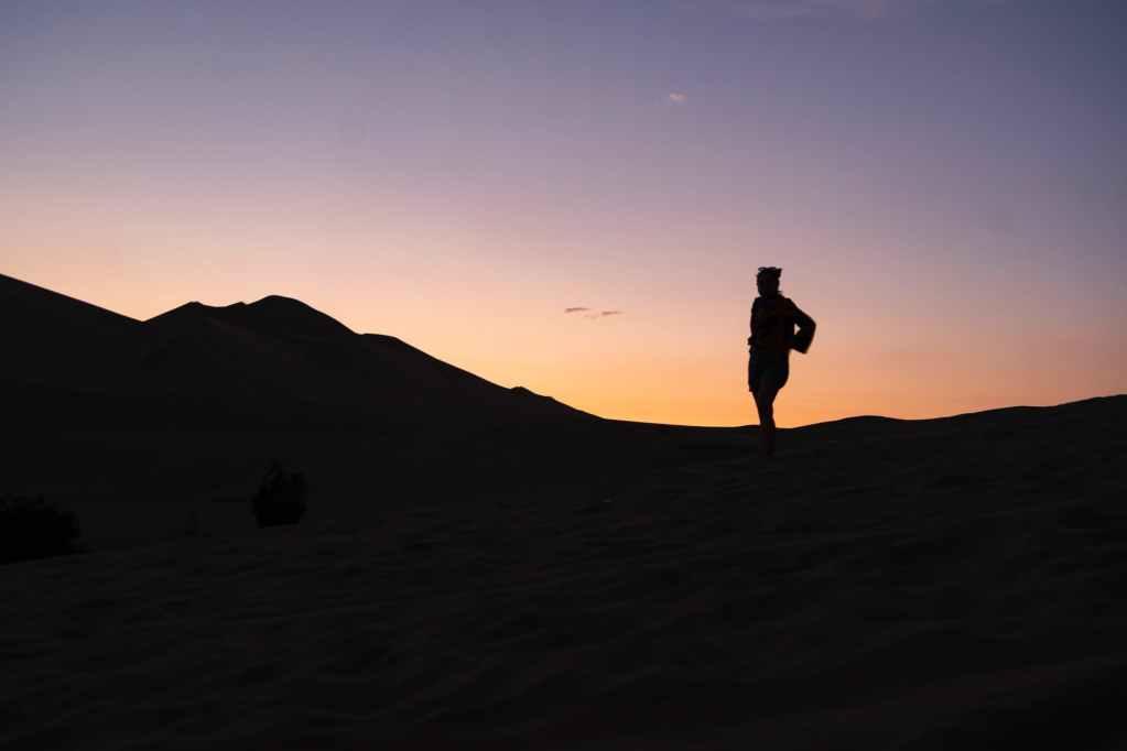 dawn landscape sunset sand