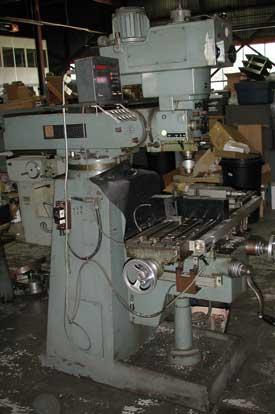 Beaver Milling Machine Parts