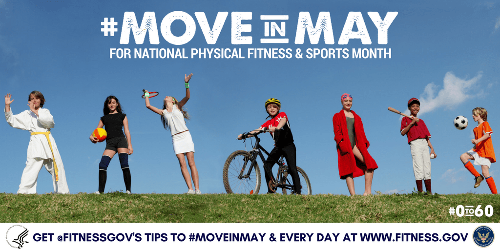 National Physical Fitness Sports Month May 2017 Hhs Gov