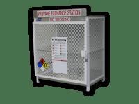 LP Gas Cylinder Storage Cabinets