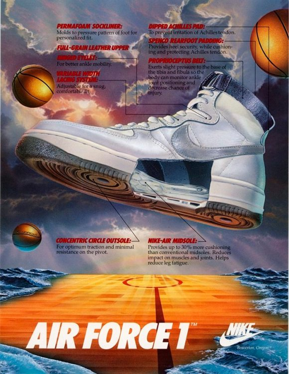 Air Force 1 advertisement