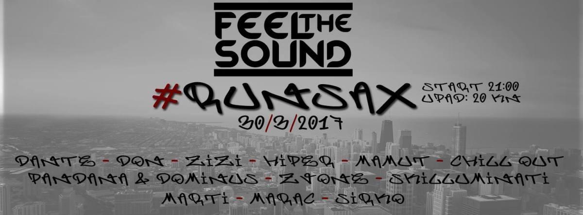 Hip Hop party RunSax - Feel the Sound