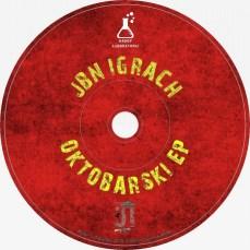 Jbn Igrach - Oktobarski EP (2019) CD cover