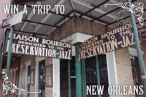 Win a trip to New Orleans